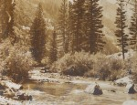(Sold) Harrison Crandall – The Icy Waters of Cascade Canyon