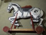 Tom Mix Toy Horse
