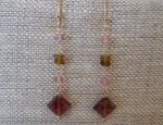 Dawn Bryfogle Pink Diamond Tourmaline Drop Earrings