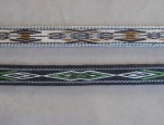 "38 Inch ""Grass Beyond the Mountains"" Hitched Horsehair Belt – Contemporary"
