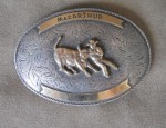 MacArthur Buckle by Nelson Silvia Co. from Houston