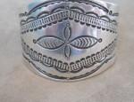 Stamped Ingot Navajo Cuff