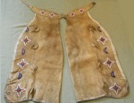 Beaded Native American Chaps
