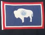 Linen Wyoming Flag