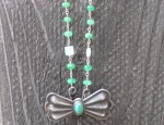 Dawn Bryfogle – Early Navajo Butterfly Necklace