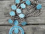 Dishta Squash Blossom Necklace