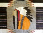 Pictorial Navajo Chief's Blanket