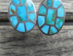 Zuni Inlaid Cufflinks