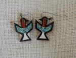 Thunderbird Earrings Circa 1930