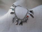 Vintage Charm Bracelet Circa 1950