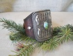 In Stock – Les Ochs – Ingot Silver and Turquoise Ketoh