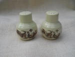 Vernon Kilns Salt and Pepper Shakers