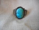 Early Turquoise Ingot Bracelet