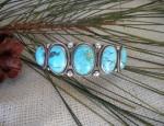 5 Stone Navajo Bracelet