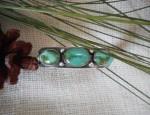 Navajo 3 Stone Bracelet
