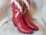 Red Stelzer Boots