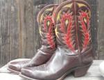 Vintage Nocona Ladies Boots Circa 1940