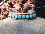 (Sold) Ten Stone Ingot Bracelet