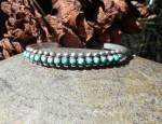 One Row Zuni Bracelet