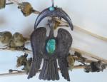 (Sold) Aquatic Bird Pendant Circa 1930