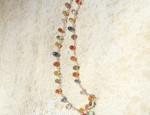 (Sold) Dawn Bryfogle – Multi – Colored Sapphire Necklace