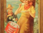(Sold) Golden West Coffee Stone Lithograph