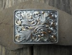 Gold and Silver Overlaid Buckle
