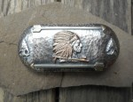 (Sold) – Clint Orms – Indian Chief Buckle