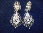 Spanish Colonial Gold Earrings