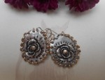 (Sold) Margaret Sullivan – Silver and Gold-filled Earrings