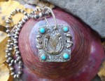 Margaret Sullivan – Silver and Gold HorseShoe Necklace