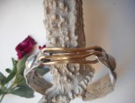 Margaret Sullivan – Silver and Gold Linked Cuff