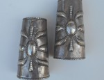 Navajo Repousse Cuffs – Attributed to Austin Wilson Circa 1920