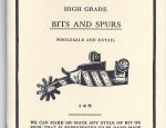 Crockett Bit and Spur Catalog No. 6