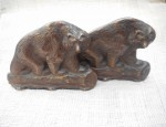 Iron Bear Bookends