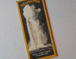 Yellowstone Brochure Circa 1930