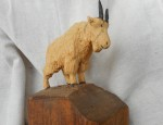 (Sold) – John Clarke – Mountain Goat