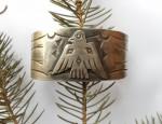 (Sold) Thunderbird Cuff Bracelet