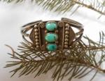 Navajo Cuff Bracelet Circa 1940