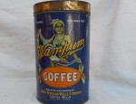 Wampum Coffee Tin Circa 1900