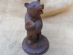 (Sold) Yellowstone Bear with Vase
