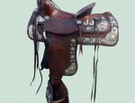 (Sold) – Keyston Bros. Sterling and 14K Saddle