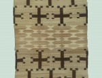 Navajo Spider Woman Crosses Saddle Blanket
