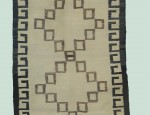 Navajo Cattle Brands Double Saddle Blanket