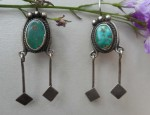 (Sold) – Navajo Earrings Circa 1930
