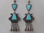 Early Pueblo Drop Earrings