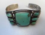 (SOLD) Navajo Cuff Bracelet Circa 1930-1940