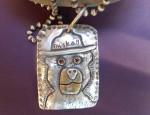 Margaret Sullivan – Sterling and 14kt Gold Smokey the Bear