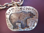 Margaret Sullivan – Sterling Bear Grand Teton National Park Bracelet