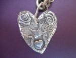 Margaret Sullivan – Sterling Heart Necklace